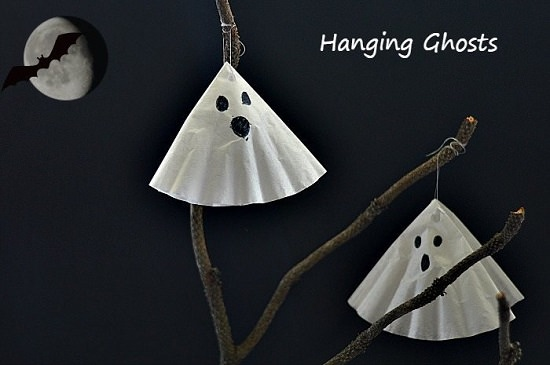 Coffee Filter Ghosts