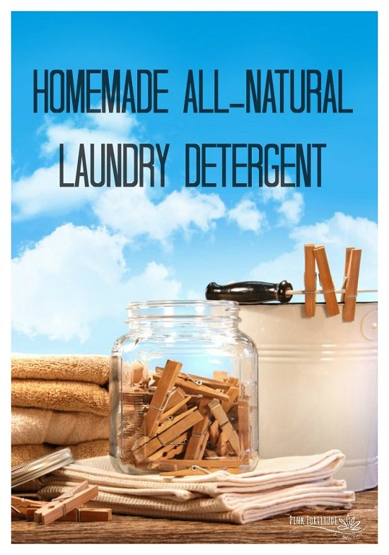 Homemade Natural Laundry Detergent recipe8