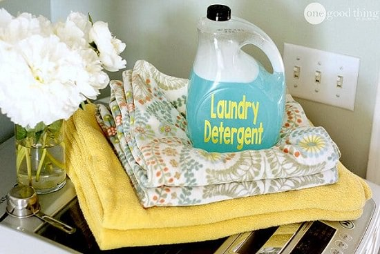 No-grate Laundry Detergent