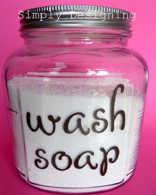 Basic Detergent recipe