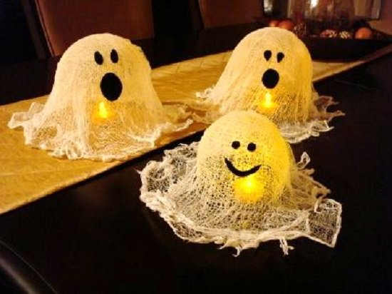 Halloween Ghosts Decorations Ghostly Luminaries