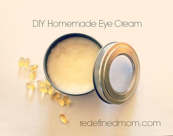 Homemade Eye Cream Recipes