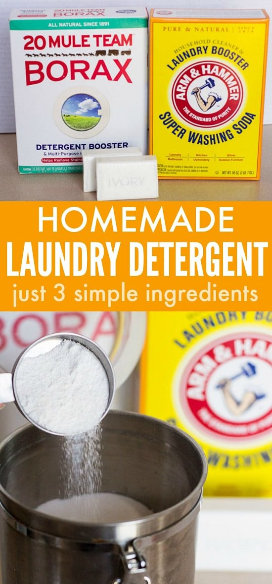 Detergent With Borax