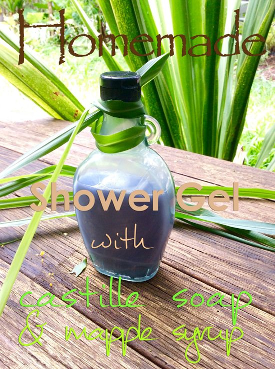Castile Soap DIY Shower Gel