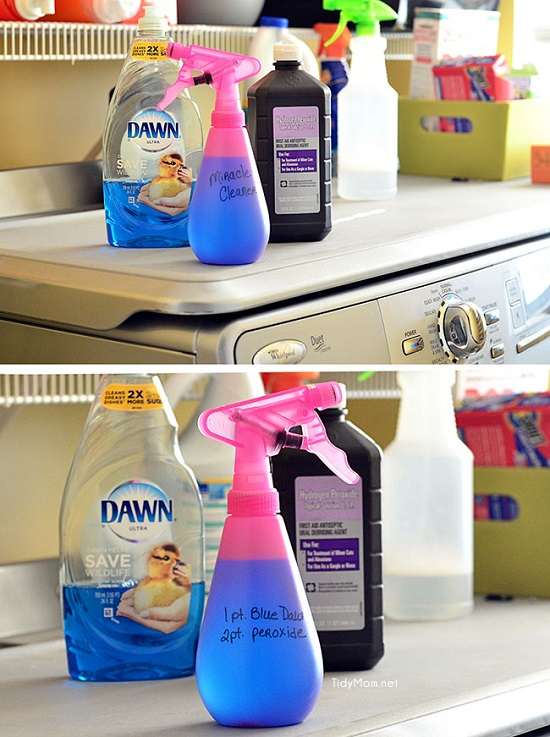 These 13 Homemade DIY Stain Remover Ideas can save your time in laundry efficiently.