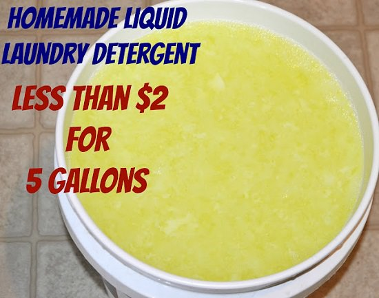 homemade natural laundry detergent recipes2