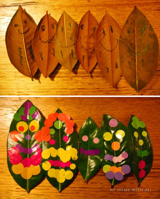 Fall Leaves Art Projects 3