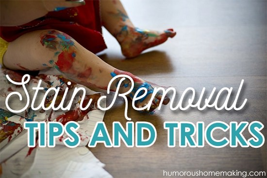 DIY Stain Removal Ideas 6