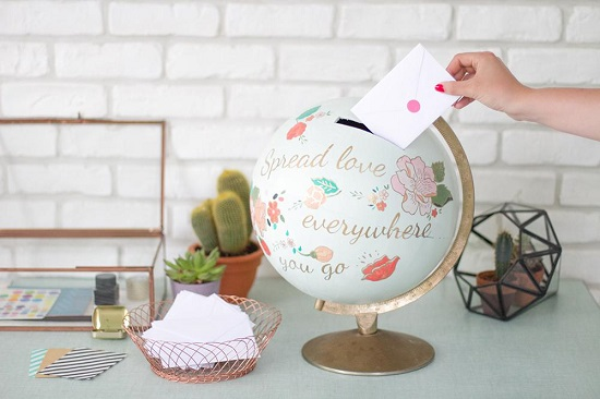 diy piggy bank ideas-globe piggy bank