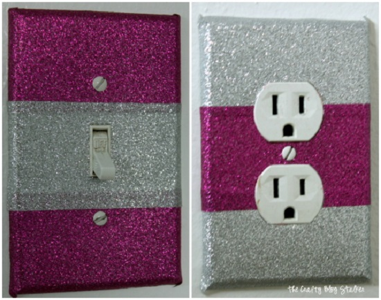 DIY Light Switch Covers 6