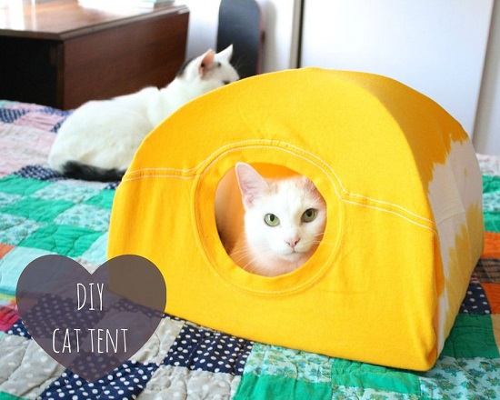 diy cat house ideas12