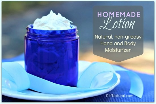 Homemade Lotion for Dry Skin in Winter 2