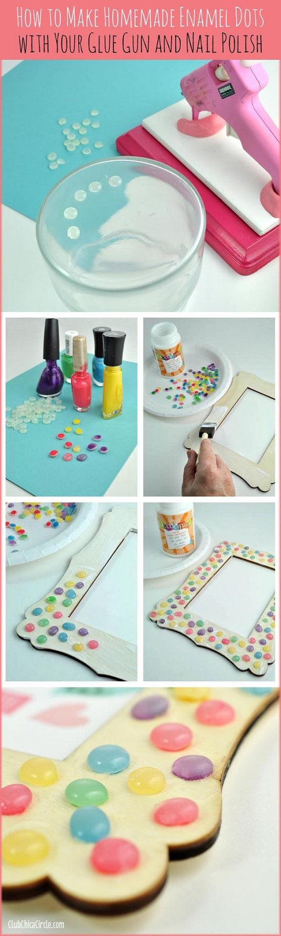 craft using nail polish3