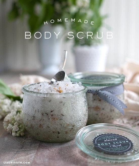 DIY body scrub 30