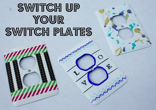 DIY Light Switch Covers 12