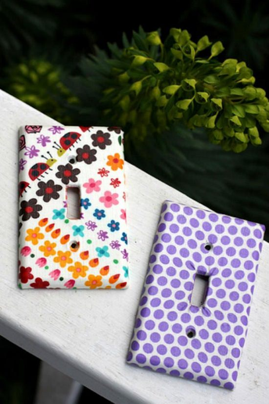 DIY Light Switch Covers 8