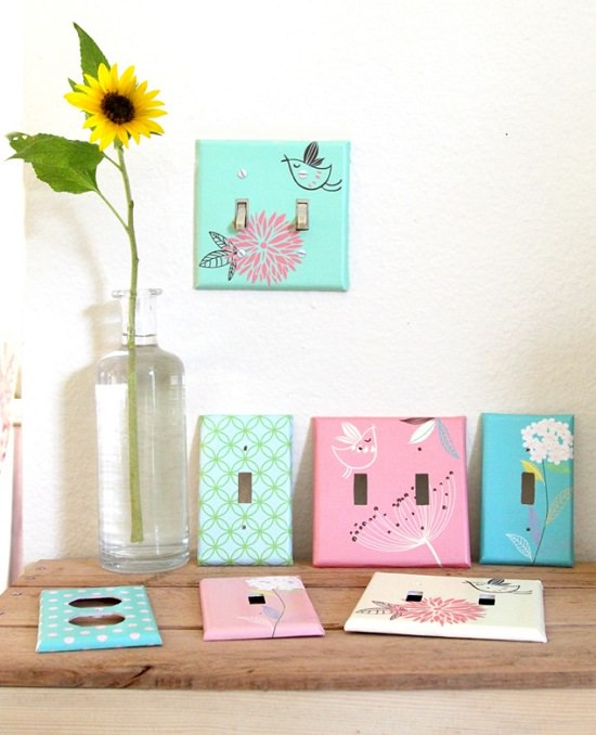 DIY Light Switch Covers 19