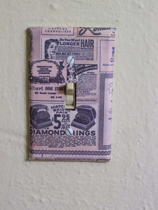 DIY Light Switch Covers 14