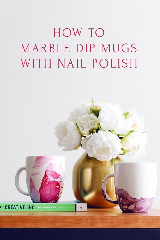 craft using nail polish6