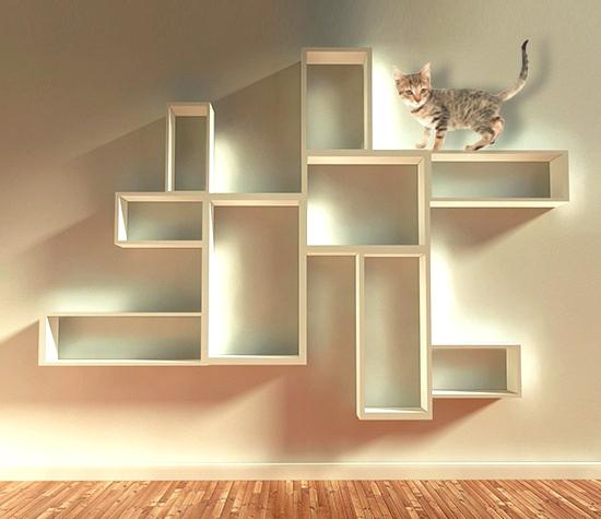 Amazing 18 Diy Cat Shelves Ideas For Ultimate Cat Lovers Bright Interior Design Ideas Tzicisoteloinfo
