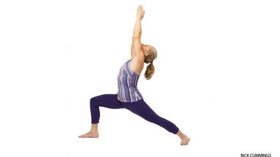 DIY Yoga Poses 15