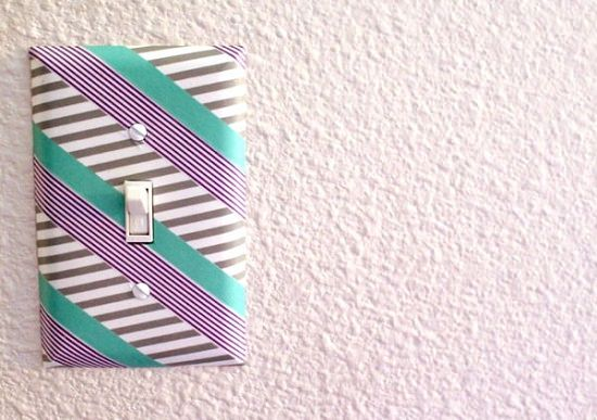 DIY Light Switch Covers 2