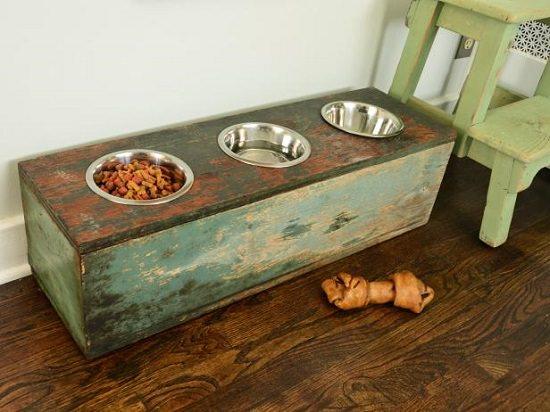 Dog Feeding Station Ideas 1