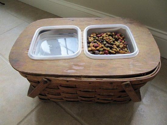 DIY Dog Feeding Station 3