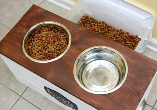 Dog Feeding Station Ideas 2