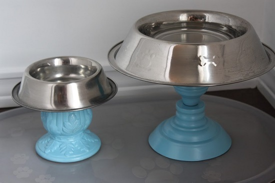 DIY Dog Feeding Station 4