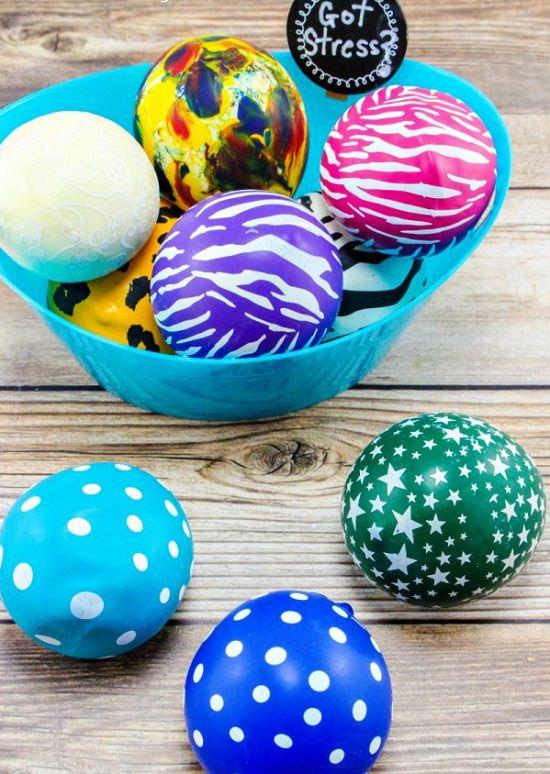 Homemade Stress Balls 5