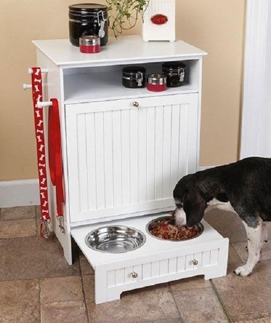 Dog Feeding Station Ideas 11