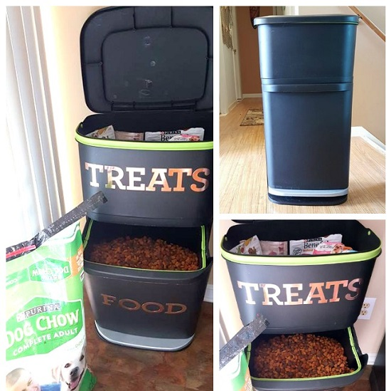 DIY Dog Feeding Station 20
