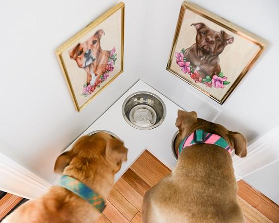 Dog Feeding Station Ideas 9