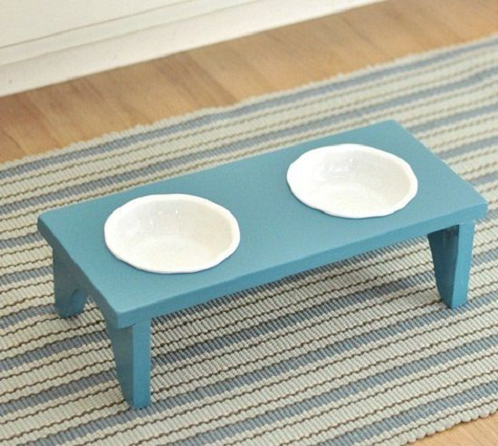 DIY Dog Feeding Station 7