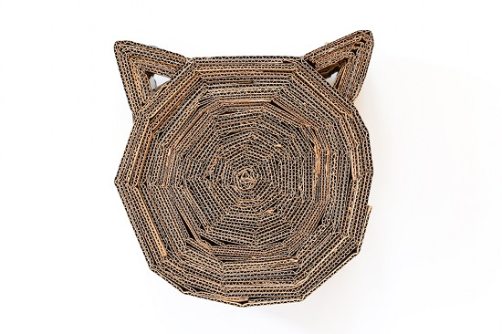 DIY Cardboard Cat Scratcher 3