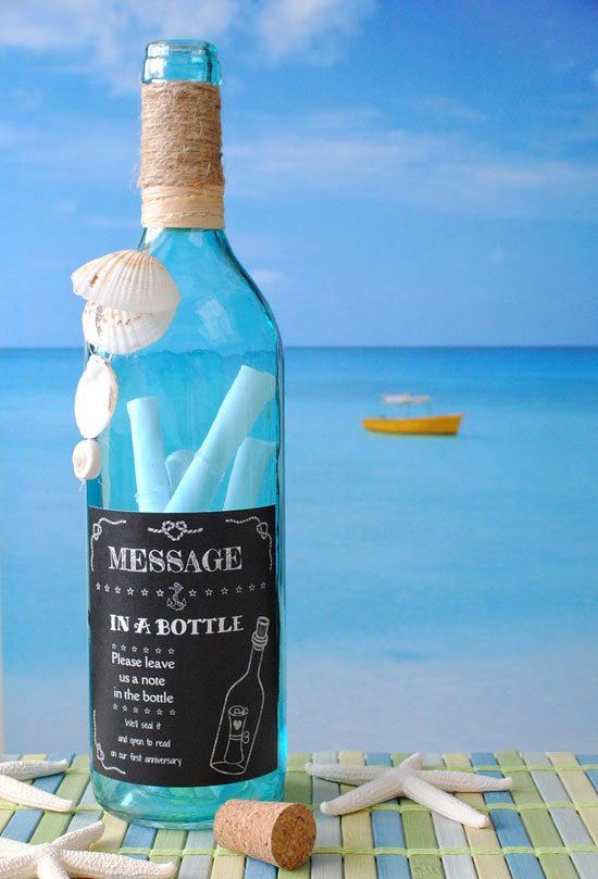 DIY Message in a Bottle 17