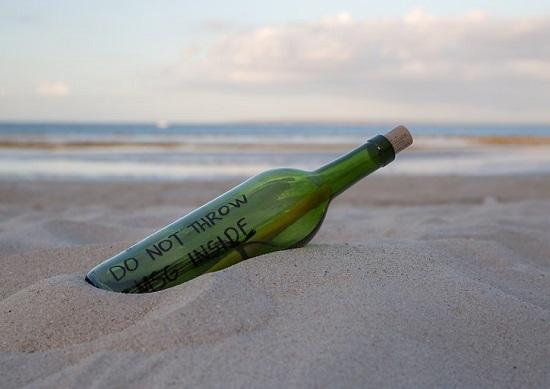 DIY Message in a Bottle 1