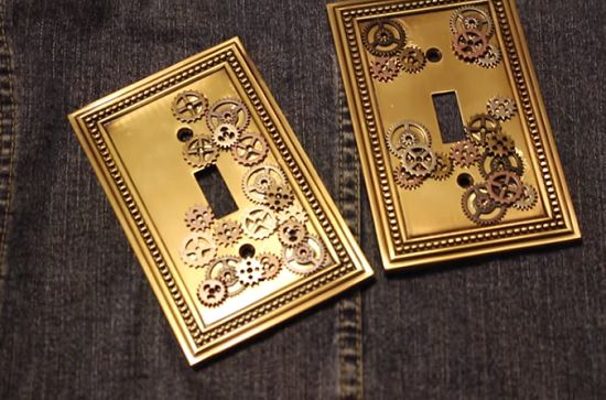DIY Light Switch Covers 7