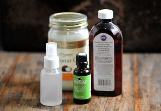 Instead of using chemicals on your pooch, apply these Homemade Deodorant Spray for Dogs to