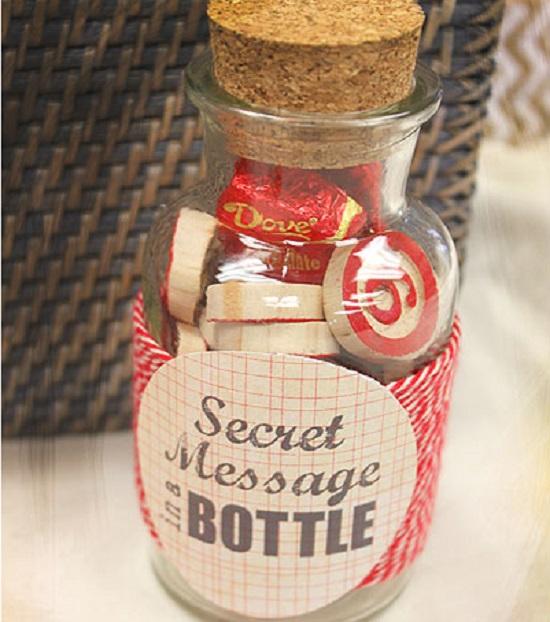 DIY Message in a Bottle 14