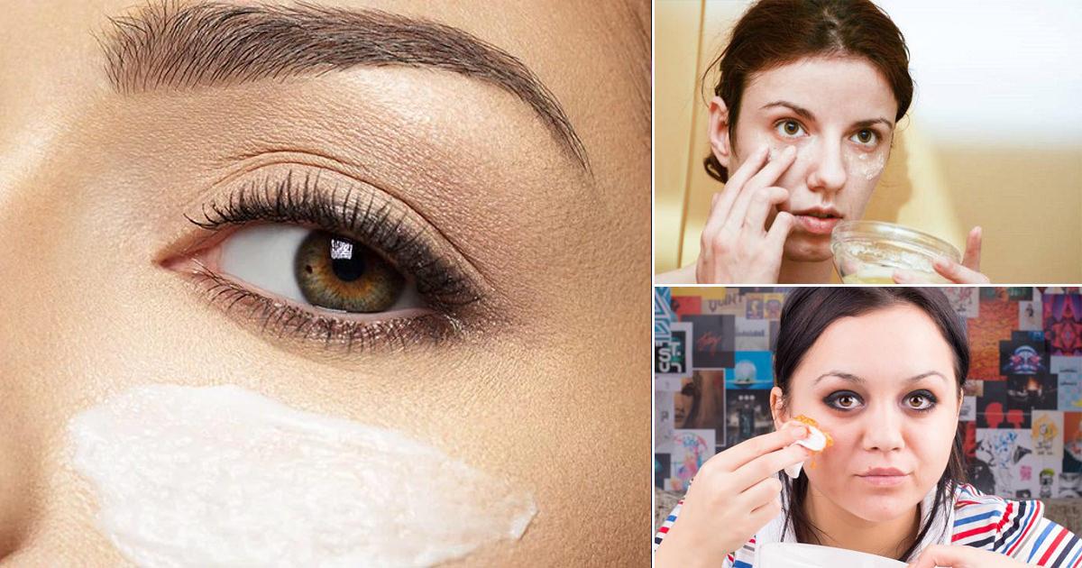 5 Diy Under Eye Mask Recipes To Get Rid Of Dark Circles And Bags