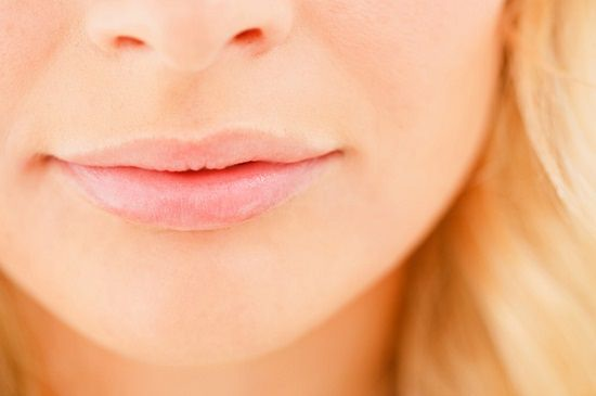 coconut oil on lips