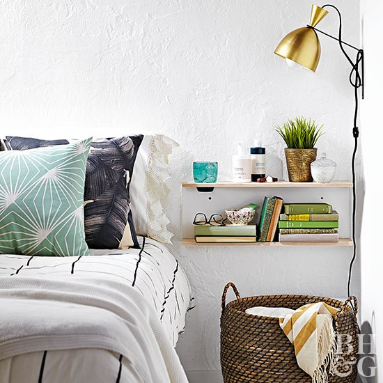 DIY Floating Nightstand Ideas
