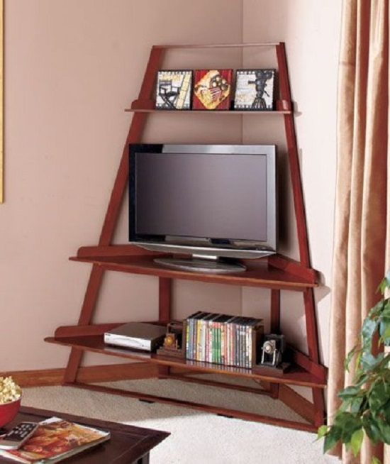 Want to optimize the space of your corner? Check out one of these chic and functional DIY Corner TV Stand Ideas!