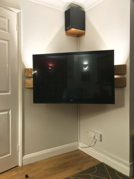 32 Diy Corner Tv Stand Ideas Shelf