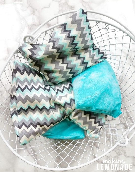 DIY Homemade Heating Pads 4