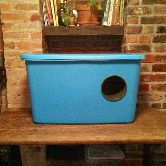 Flowerpot Cat Shelter