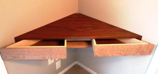 Diy Corner Stand Ideas Shelf