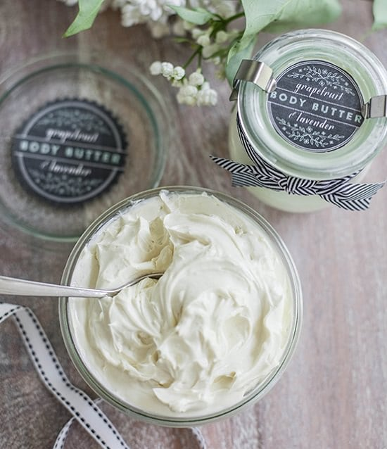 Body Butter Recipe DIY4